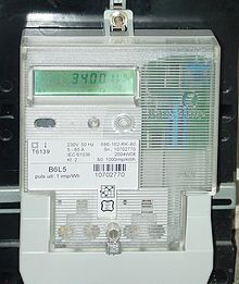 Solid-state-electricity-meter