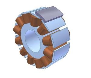 Radial Fluks Generator Permanen Magnet